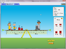 Screenshot of the simulation Balancing Act 平衡動作