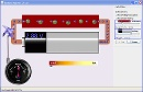 Screenshot of the simulation Circuito con Pila_Resistor