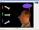 Screenshot of the simulation Visión del Color