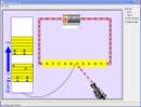 Screenshot of the simulation Αγωγιμότητα