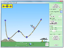 "Screenshot of the simulation Pista de patinar ""Energía"""