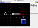 Screenshot of the simulation Mgnesrd s elektromgnes