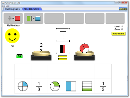 Screenshot of the simulation Breuken paren