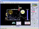 Screenshot of the simulation Balões e Empuxo