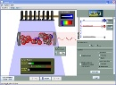 Screenshot of the simulation Laserit