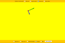Screenshot of the simulation PhET Movimiento2D