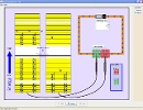 Screenshot of the simulation Semicondutores