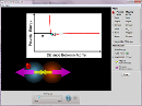 Screenshot of the simulation Interaes Atmicas