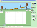 Screenshot of the simulation ქანობი